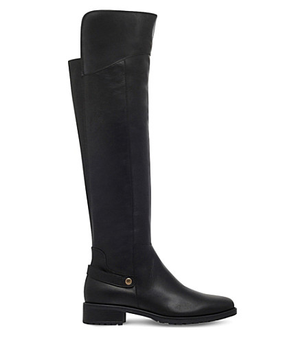 CARVELA COMFORT Vivian knee-high leather boots (Black