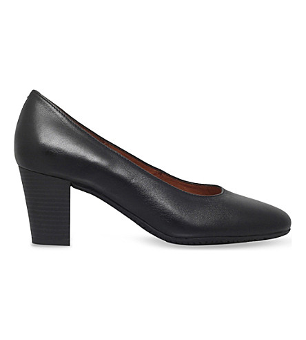 CARVELA COMFORT Air contoured leather courts (Black