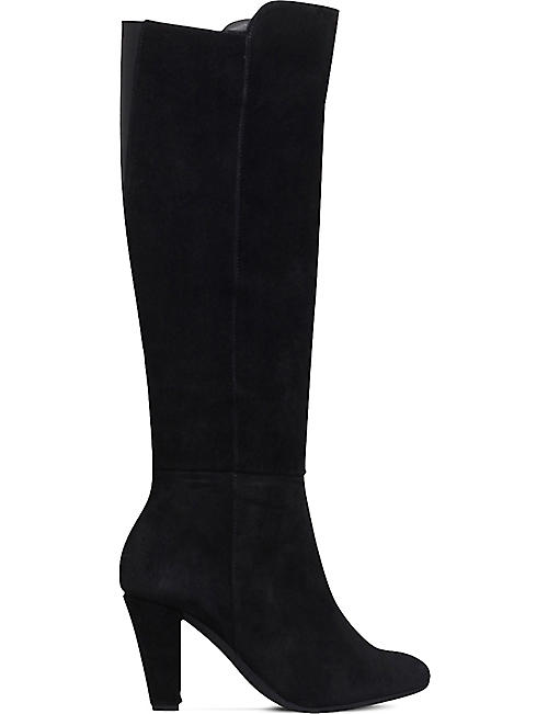 20a1c2169cc3 CARVELA COMFORT Viva suede heeled knee-high boots