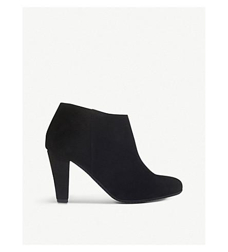 CARVELA COMFORT 罗斯绒面革踝靴 (黑