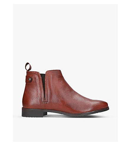CARVELA COMFORT Rex leather chelsea boots (Tan