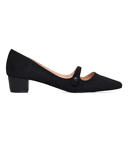 MISS KG Audrina suede courts (Black