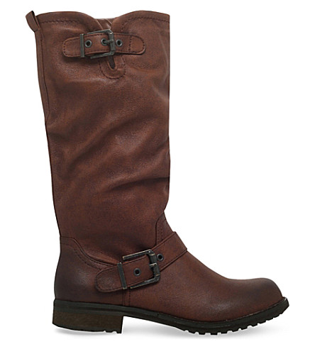 MISS KG Winter knee-high boots (Brown