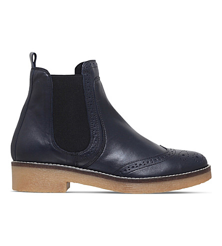 CARVELA Navy leather Slowest (Navy