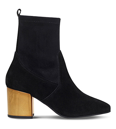 CARVELA Slick ankle boots (Black