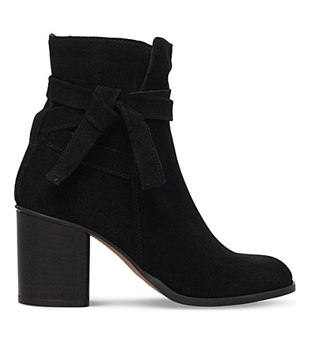 CARVELA Sleepy Suede Ankle Boots (Black