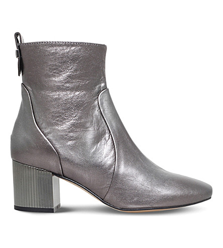 CARVELA Strudel leather ankle boots (Gunmetal