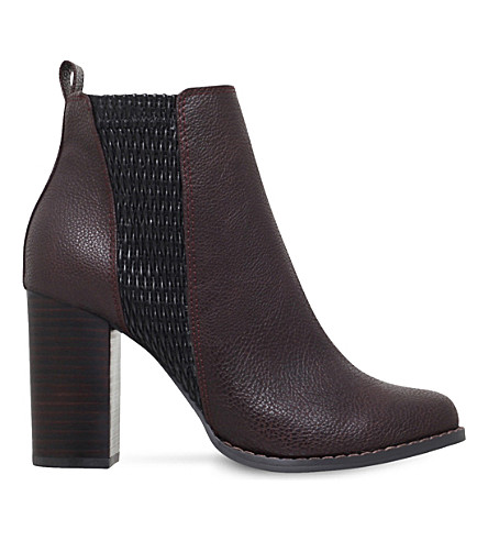 MISS KG Scorpion heeled ankle boots (Wine