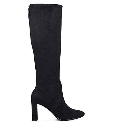 NINE WEST Kellan2 knee-high stretch boots (Black
