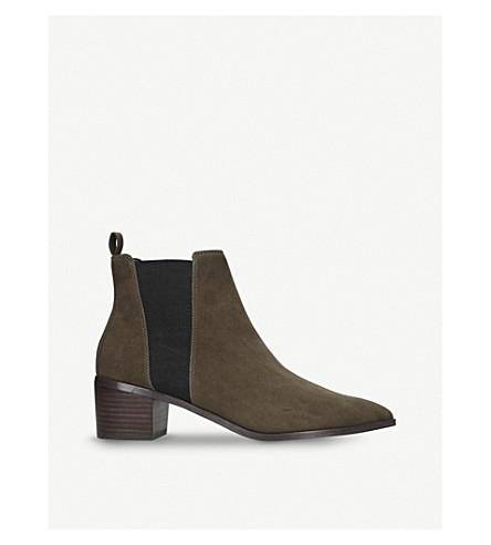MISS KG Senta suede ankle boots (Khaki