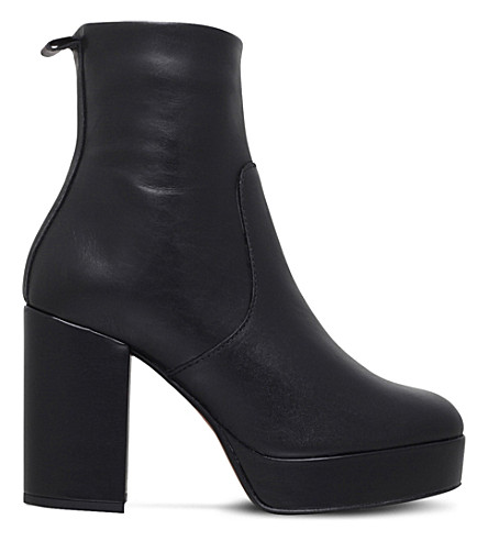CARVELA Sweden leather boots (Black
