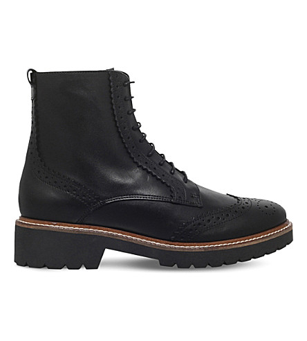 CARVELA Snail leather boots (Black