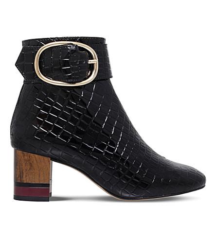KG KURT GEIGER Ringo patent ankle boot (Black