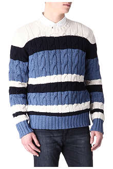 JOSEPH Cricket cable jumper