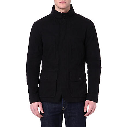 JOSEPH Four-pocket jacket (Black