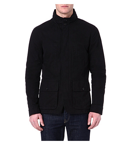 JOSEPH Four-pocket jacket (Black