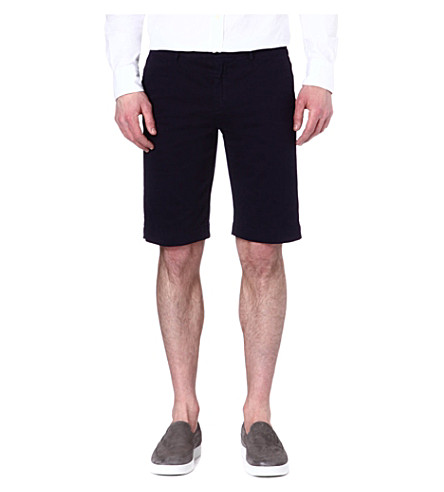 JOSEPH Hawaii chino shorts (Indigo
