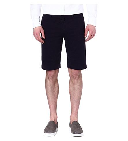 JOSEPH Hawaii chino shorts (Indigo
