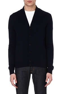 JOSEPH Shawl-collar wool cardigan