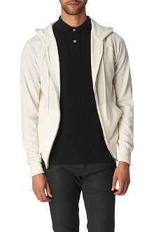 JOSEPH Hooded cashmere cardigan