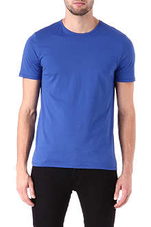 JOSEPH Crew-neck cotton top