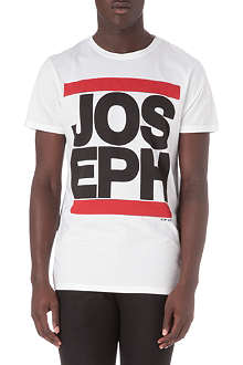 JOSEPH Round neck graphic logo t-shirt