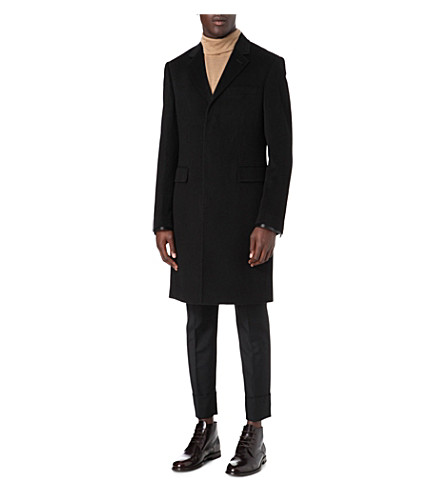 JOSEPH Kent wool coat (Black