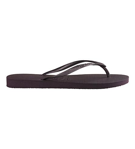 HAVAIANAS Slim flip-flops (Aubergine