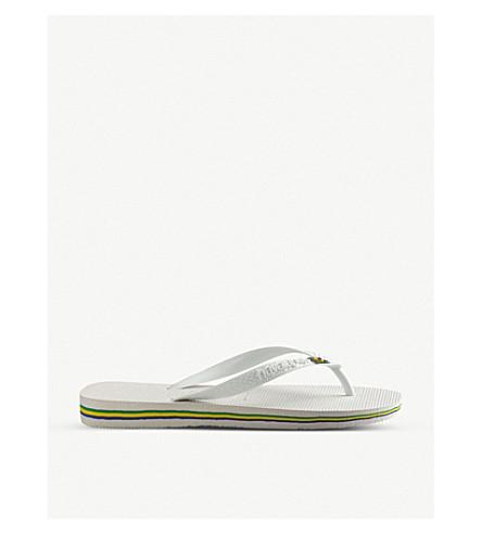 HAVAIANAS Brazil flip-flops (White