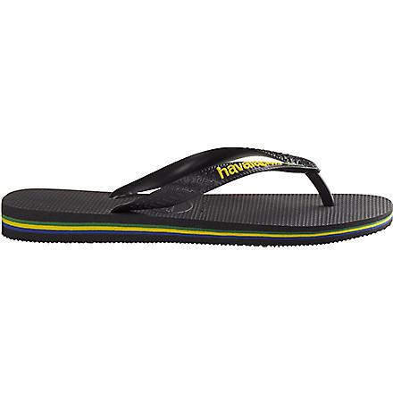 HAVAIANAS Brasil flip flops (Black