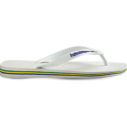HAVAIANAS Brasil flip flops (White