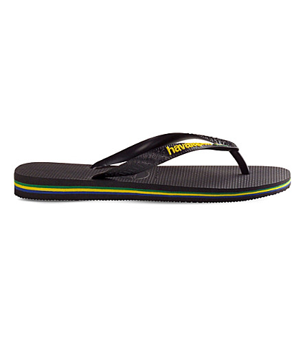 HAVAIANAS Brazil flip-flops (Black