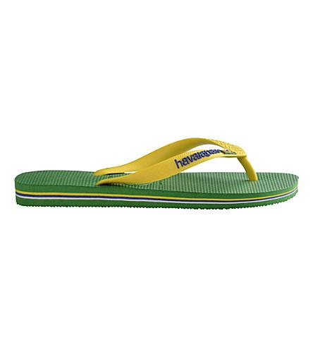 HAVAIANAS Brazil flip-flops (Green