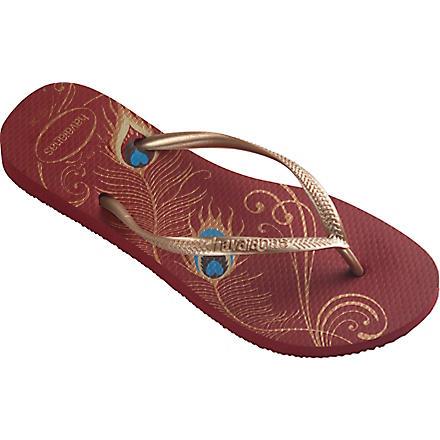 HAVAIANAS Slim flip flops (Red