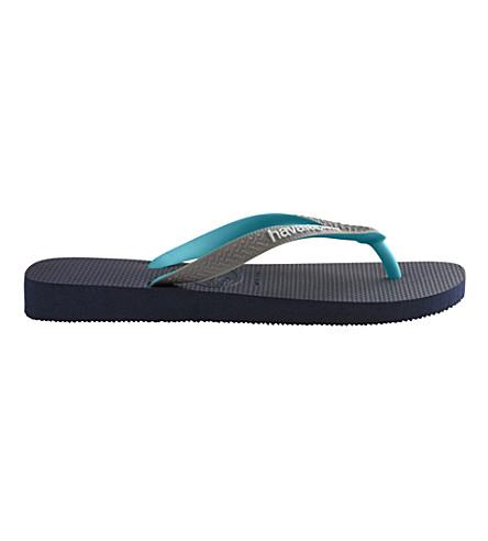 HAVAIANAS Flip flops (Navy/grey/green