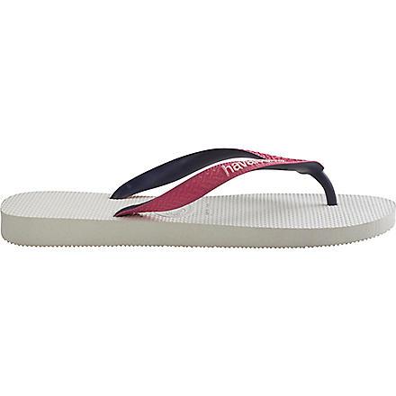 HAVAIANAS Flip flops (White/pink