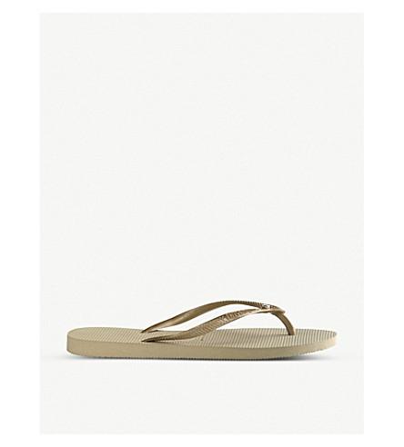 HAVAIANAS Slim embellished flip-flops