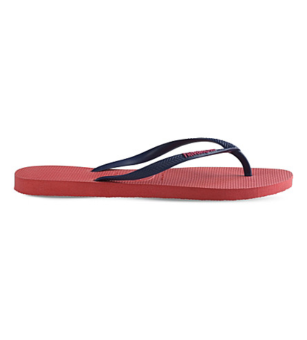 HAVAIANAS Slim rubber flip-flops (Coral+new