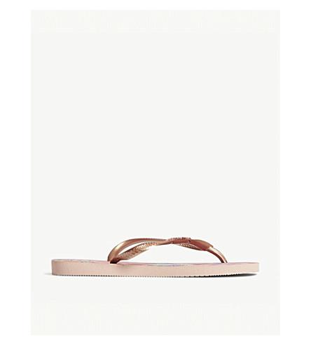 HAVAIANAS超薄热带拖鞋 (芭蕾 + 玫瑰