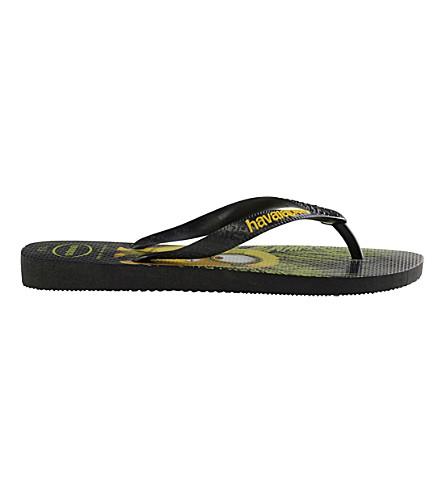 HAVAIANAS Minions flip-flops (Black
