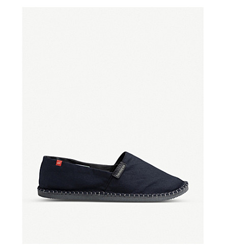 HAVAIANAS Origine III canvas espadrilles (Black