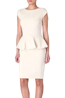 TED BAKER Cammii peplum dress