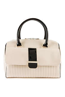 TED BAKER Colour block bowler bag