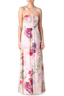 TED BAKER Gojji orchid-printed maxi dress