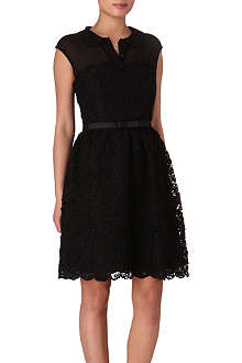 TED BAKER Lace belted dress