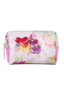 TED BAKER Eller treasured orchid print washbag