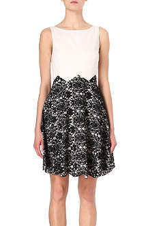 TED BAKER Sarea lace-detail dress