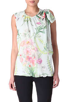 TED BAKER Friendy printed top