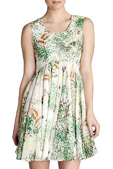 TED BAKER Liano printed dress