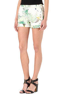 TED BAKER Anora Dancing leaves printed shorts